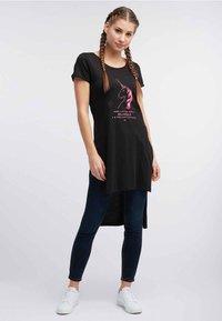 myMo - T-shirt imprimé - black - 1