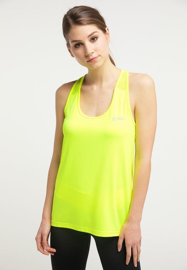 Débardeur - neon gelb