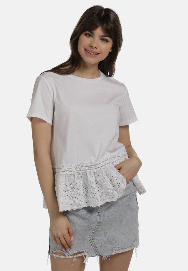 SHIRT - Bluzka - white