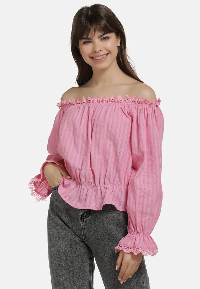 BLUSE - Blouse - pink