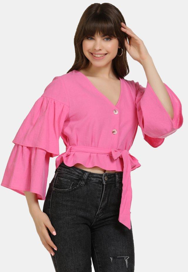 BLUSE - Bluzka - pink