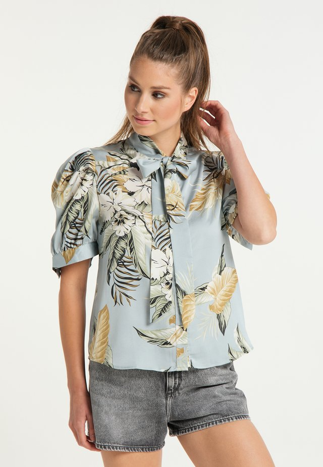 Skjortebluser - hellblau