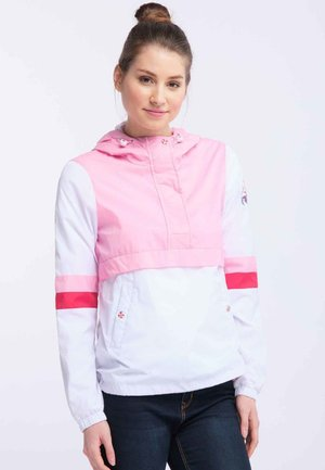 Windjack - white pink