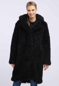 myMo - Płaszcz zimowy - black - 0