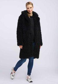 myMo - Płaszcz zimowy - black - 1