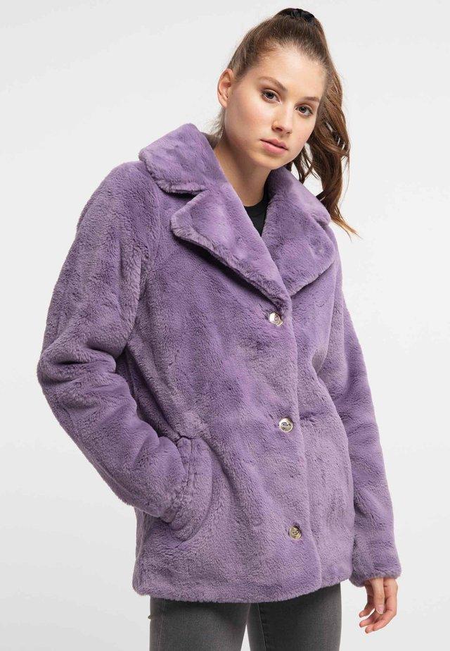 Płaszcz zimowy - lila