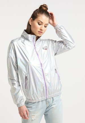Summer jacket - silver holographic