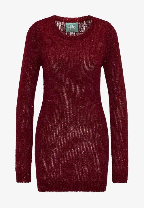 dobra jakość myMo Sweter - bordeaux Odzież Damska MFWM-PA1