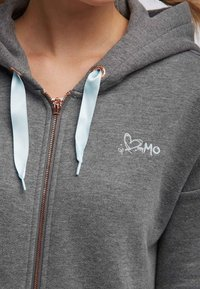 myMo - Bluza rozpinana - grey melange - 3