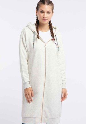 Zip-up hoodie - wool white