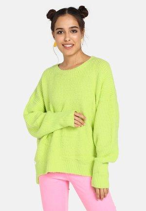 Trui - neon green