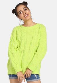 myMo - Trui - neon green - 0