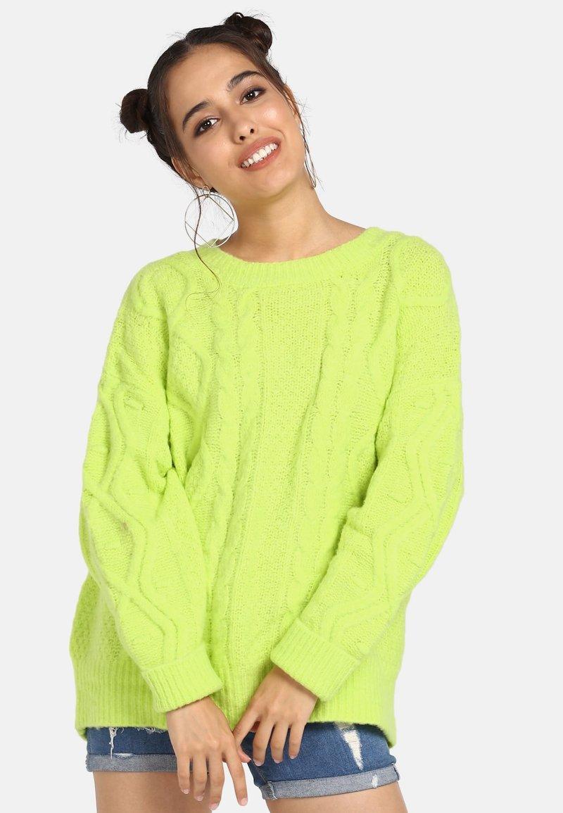 myMo - Trui - neon green