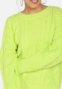 myMo - Trui - neon green - 3