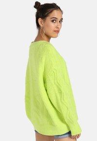myMo - Trui - neon green - 2