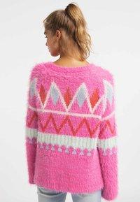 myMo - Sweter - neon pink - 2