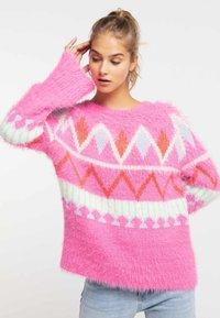 myMo - Sweter - neon pink - 0