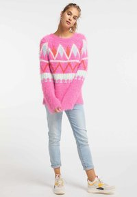 myMo - Sweter - neon pink - 1