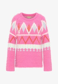 myMo - Sweter - neon pink - 4