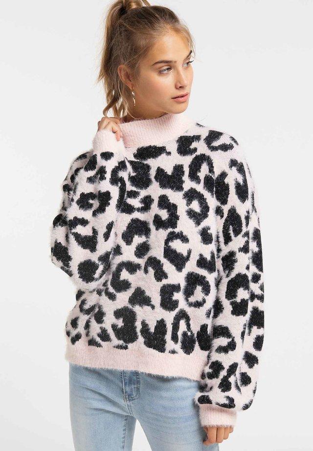 Fleecepullover - light pink