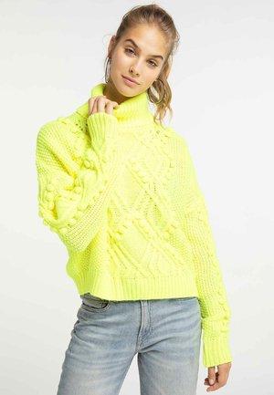 Jumper - neon yellow