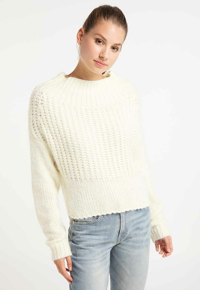 Strickpullover - off-white