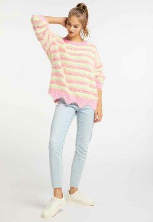 Sweter - neon pink