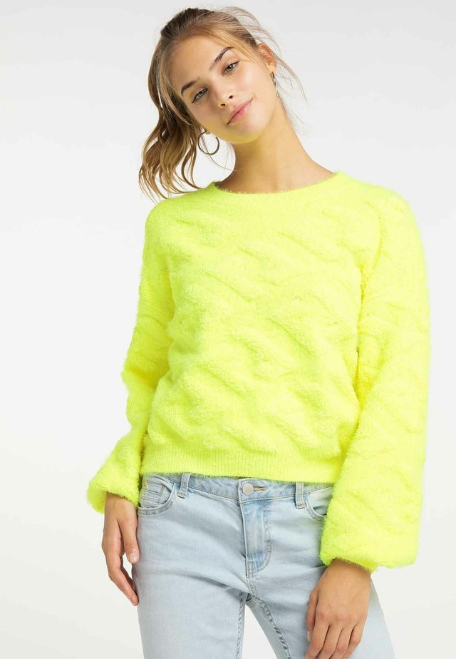 Trui - neon yellow