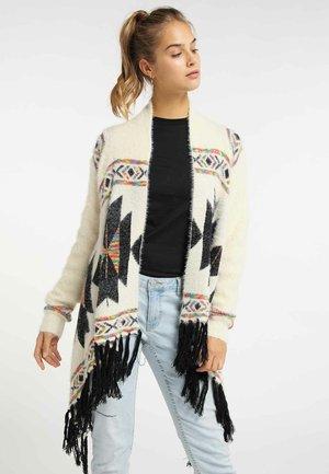 Vest - wool white