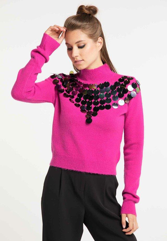 Sweter - magenta