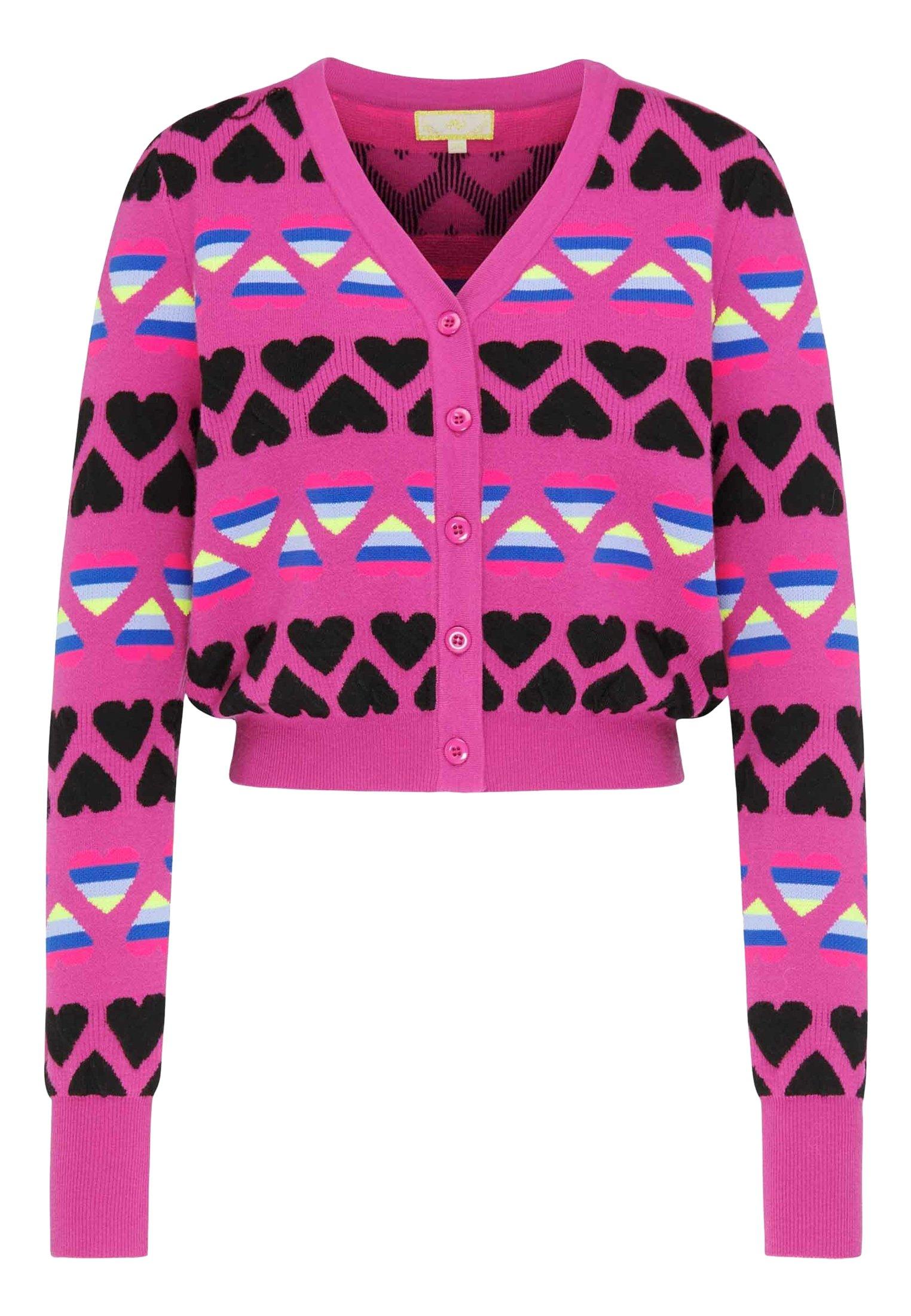Mymo Cardigan - Pink Pf206