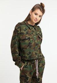 myMo - Zip-up hoodie - green - 0