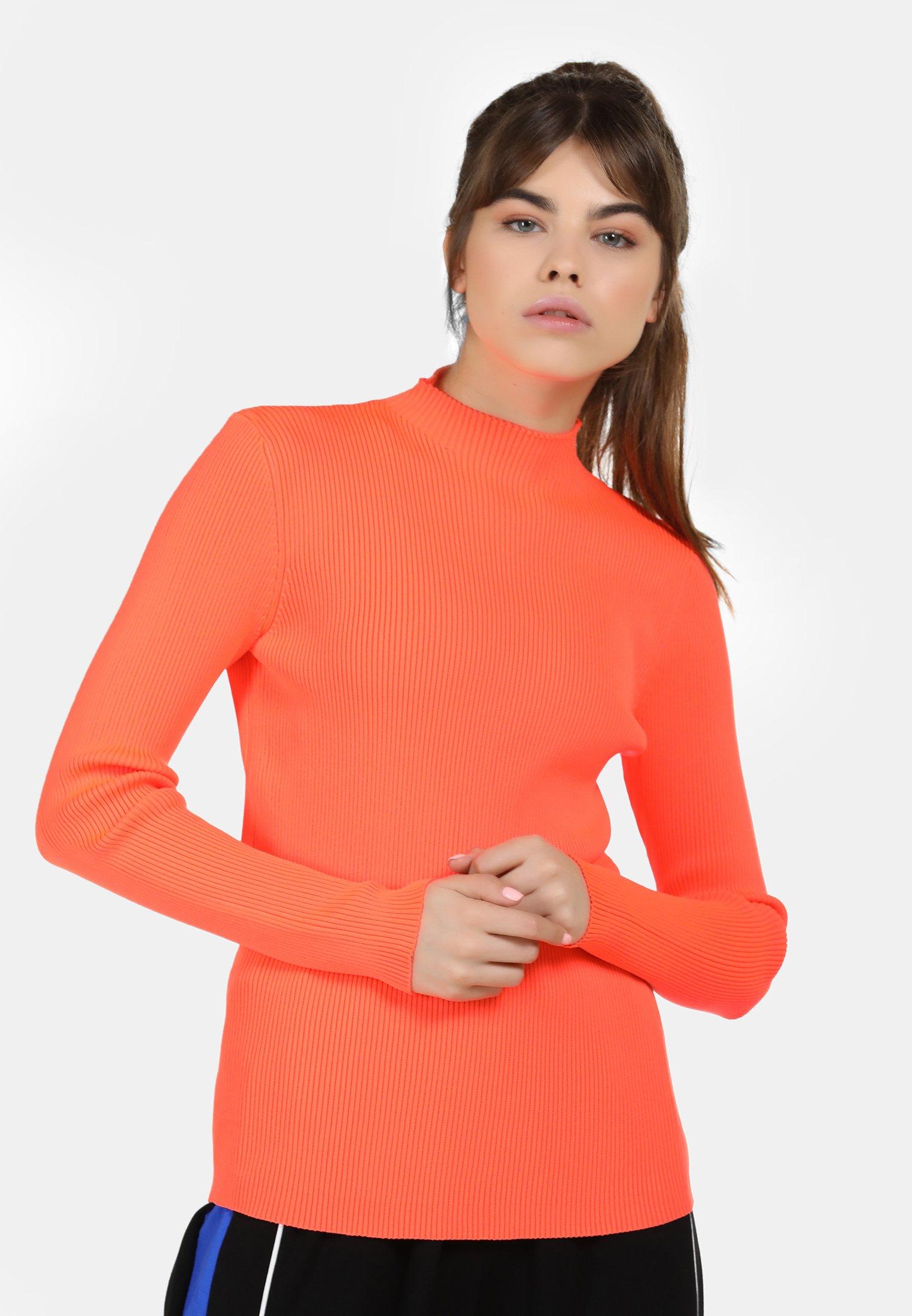 myMo Sweter - neon orange