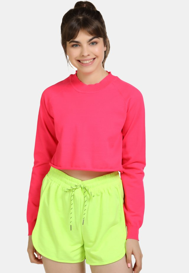 Sweter - neon pink