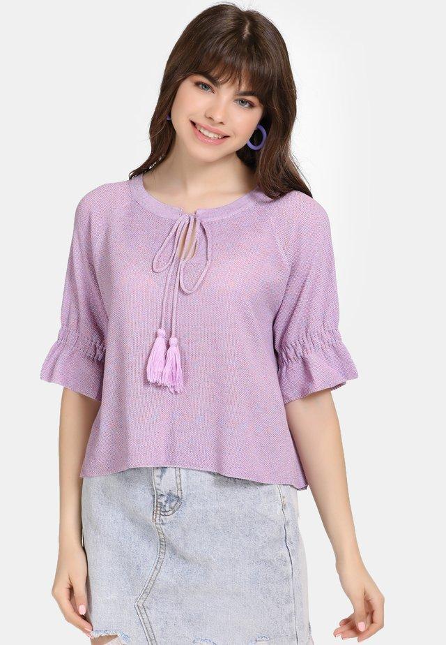 Bluzka - lilac