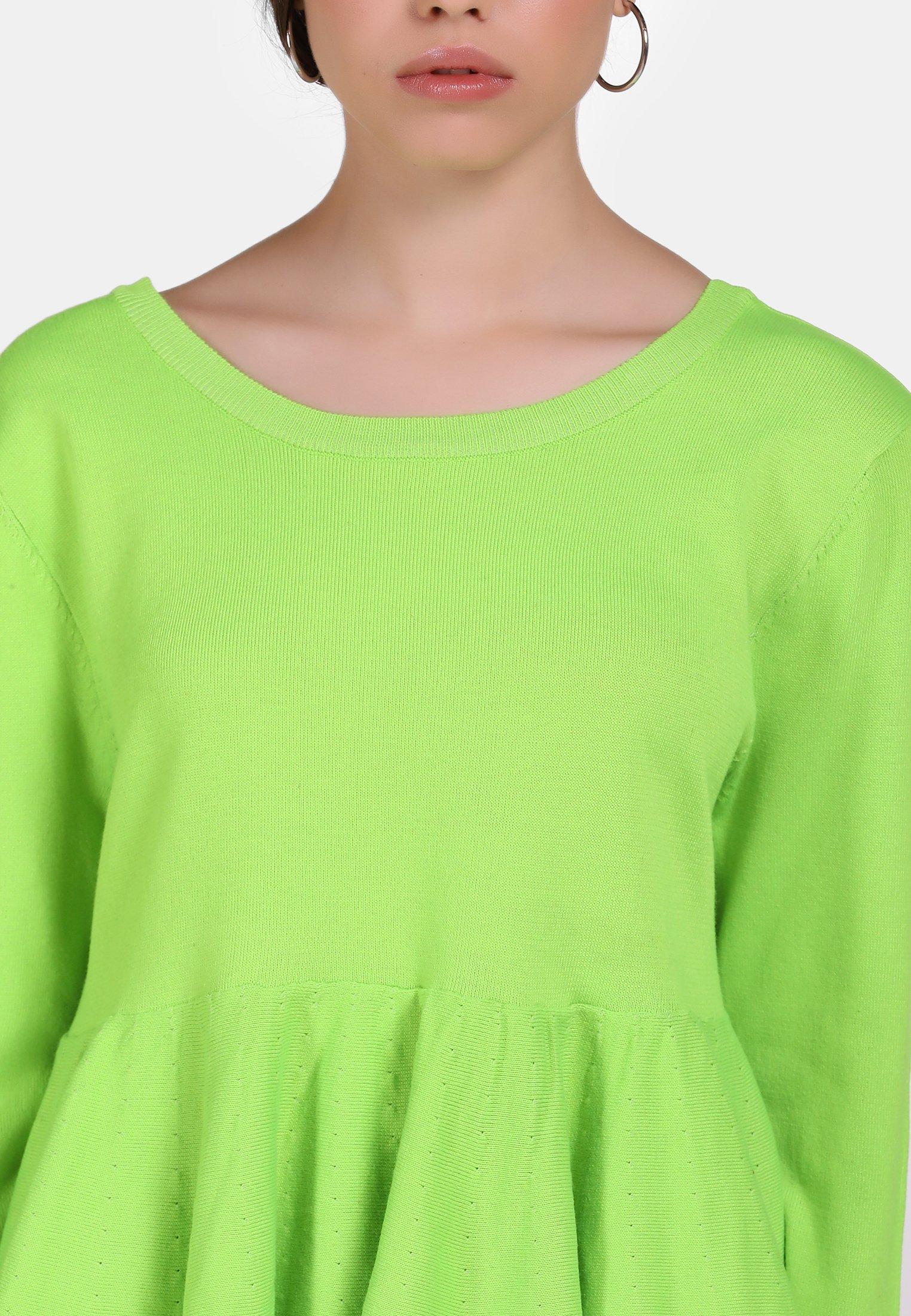 myMo Sweter - neon green