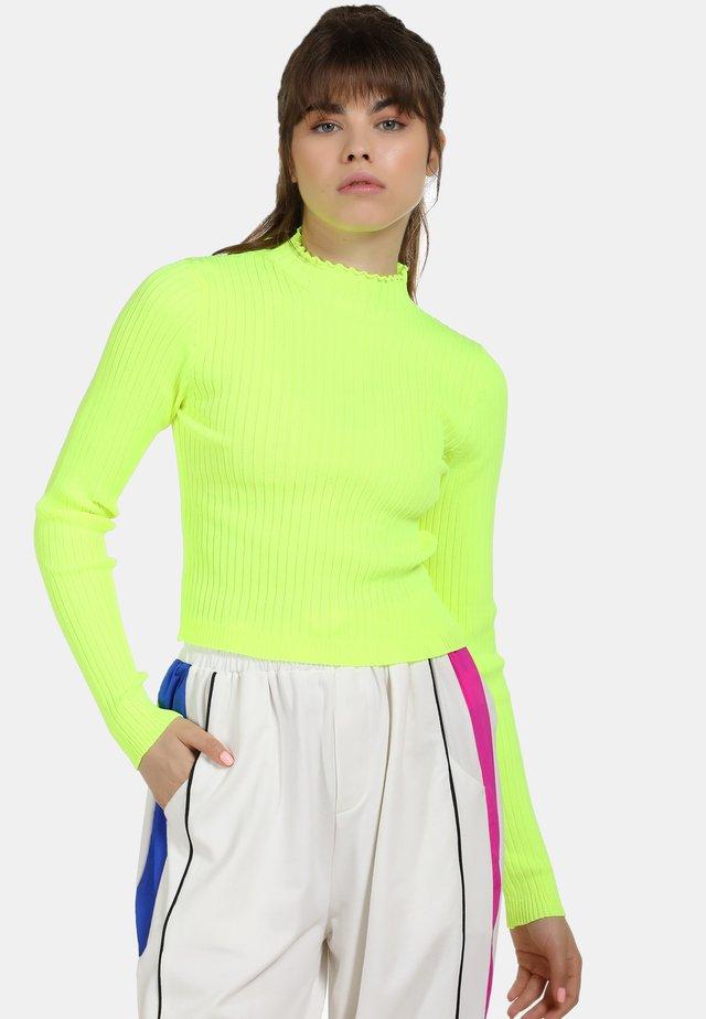 Jersey de punto - neon green