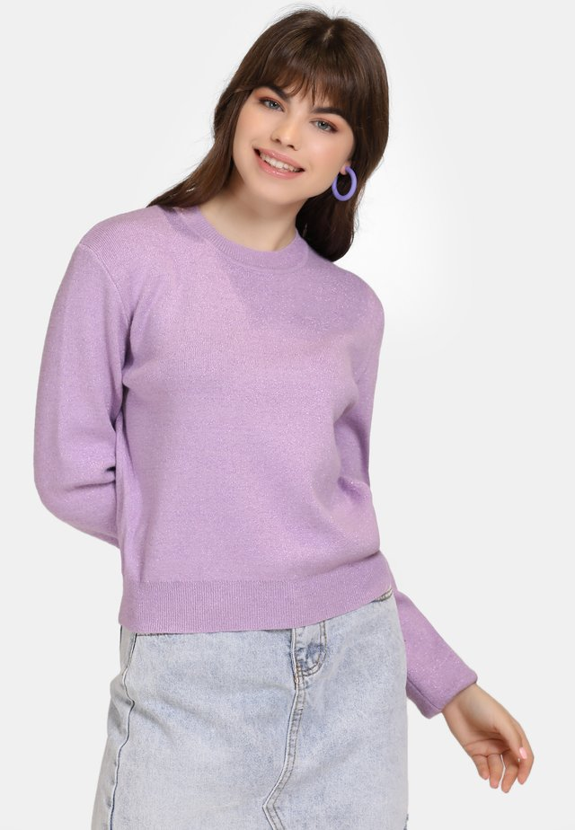 Jersey de punto - lilas