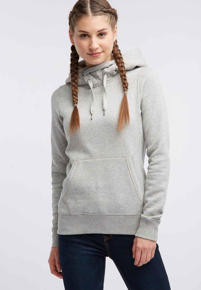myMo - Jersey con capucha - grey melange