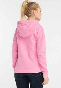 myMo - Bluza rozpinana - pink melange - 2