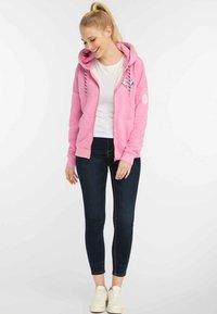 myMo - Bluza rozpinana - pink melange - 1