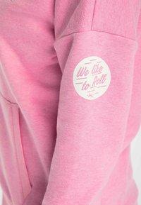 myMo - Bluza rozpinana - pink melange - 3