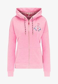 myMo - Bluza rozpinana - pink melange - 4