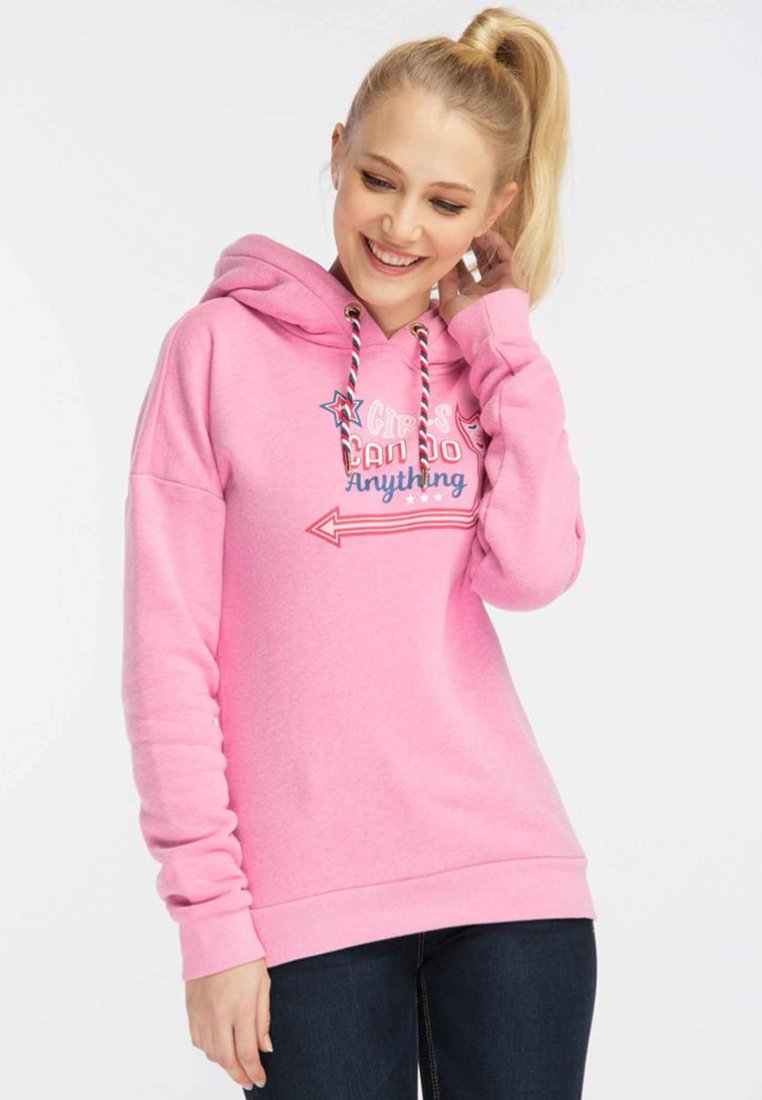 myMo - Kapuzenpullover - pink melange