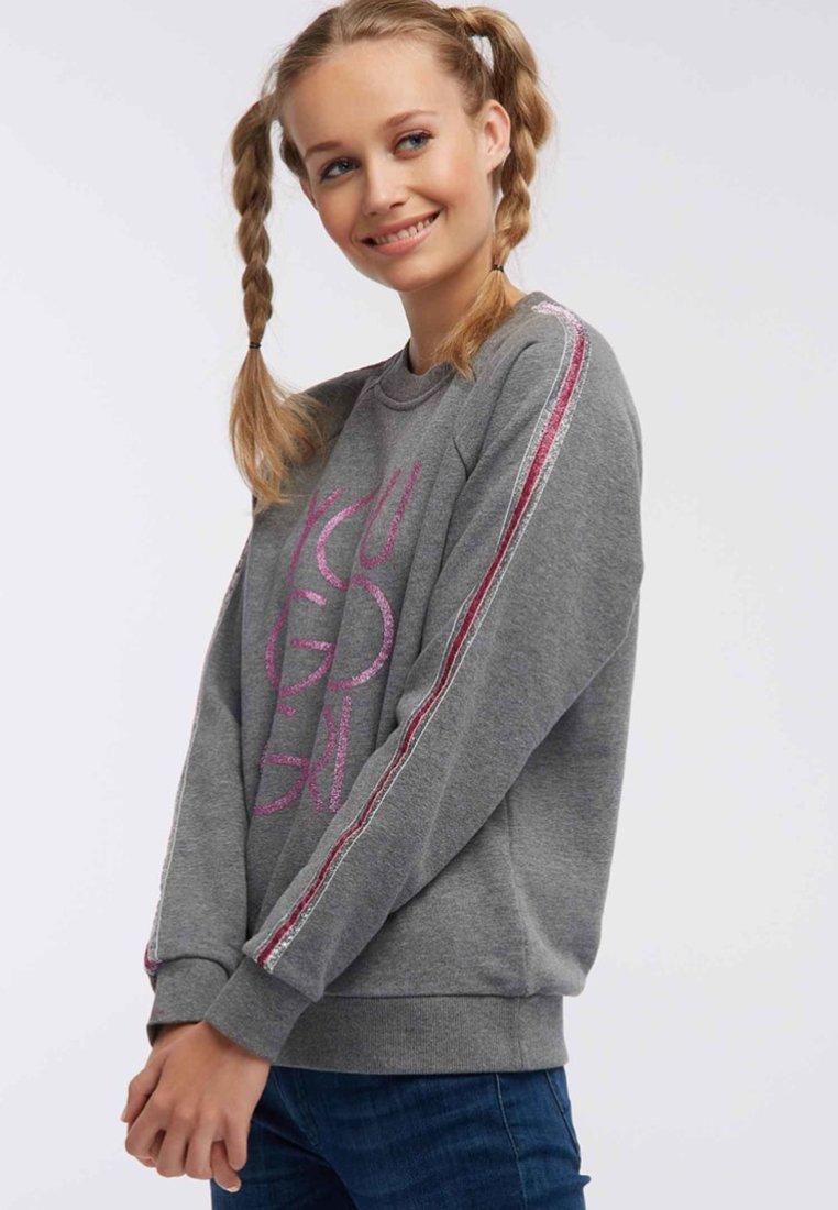 myMo - Sweatshirts - grey melange