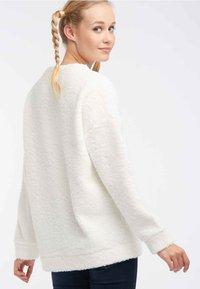 myMo - Fleece jumper - cream - 2