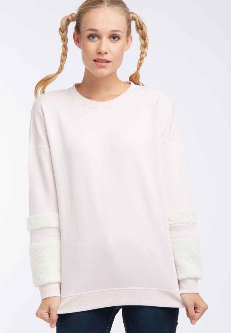 myMo - Sweatshirts - pink/ cream