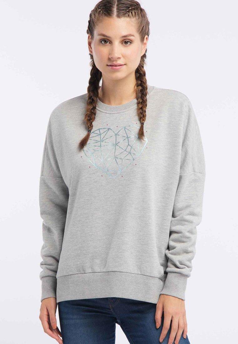 myMo - Sweatshirts - hellgrau melange