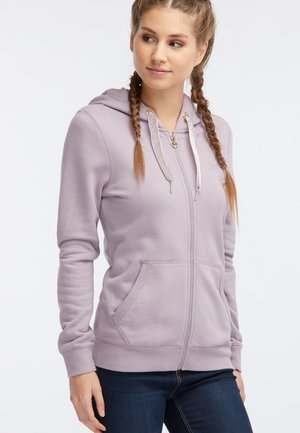 Bluza rozpinana - dark pink