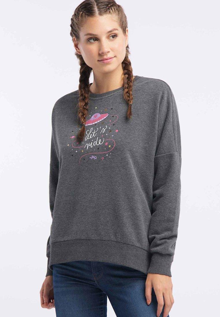 myMo - Sweatshirts - anthracite melange
